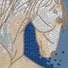 White Horse mosaic by Mosaic Artist, Sue Kershaw