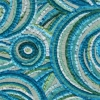 Mediterranean Daydreams mosaic by Mosaic Artist, Sue Kershaw