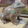 Mosaic toad by Mosaic Artist, Sue Kershaw (Larkin25 commission)