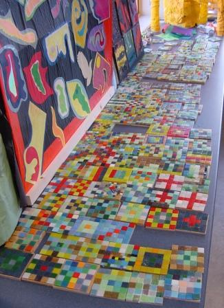 School Mosaic Photographs By Uk Mosaic Artist Sue Kershaw
