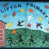 Clifton Primary School, Hull school logo mosaic