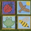 Huby Primary School, Huby, North Yorkshire paving slab mosaics funded by PTA