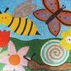 Bishopthorpe Infant Primary School, York wildlife garden mosaic