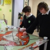 Sirius Academy School, Hull mosaic in collaboration with British Heart Foundation
