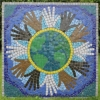 St Thomas More RC Primary School mosaic funded by Arts Council