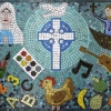 Our Lady and St Brendan's RC Primary School, Bradford, West Yorkshire celebratory school mosaic
