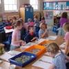 School mosaic workshop