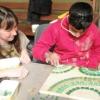 Ravenscliffe High School, Huddersfield mosaic workshop
