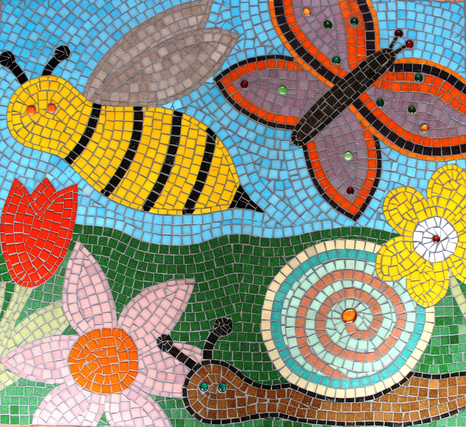 School And Community Mosaics Learn How To Create A